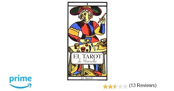 Cartas del Tarot de Marsella y manual explicativo Tabla de ...