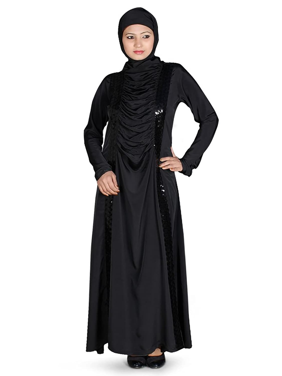 MyBatua Women's Islamic Clothing Buy Abaya Online in Black