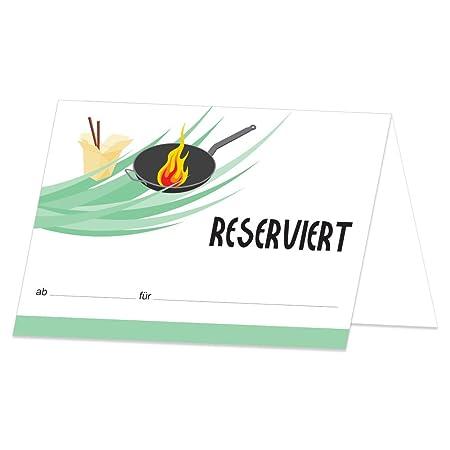 pricaro mesa Tarjeta Reservado