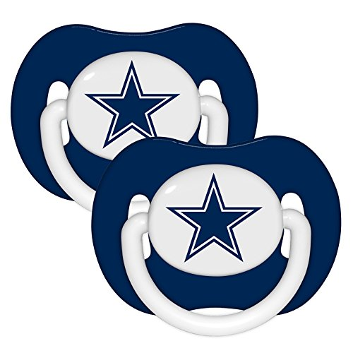 Football Baby Infant Pacifier 2 Pack