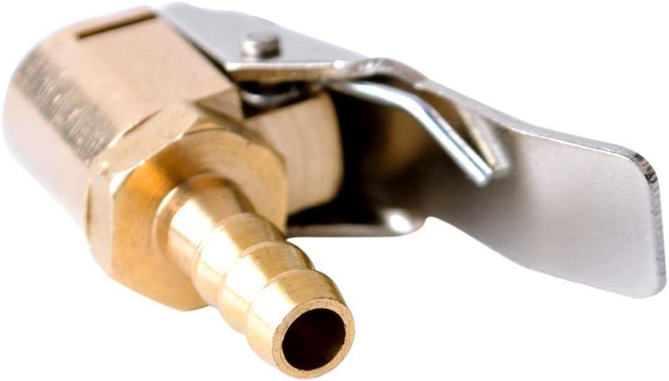 Redcolourful 6mm 8mm reifenf/üller luftventil anschluss Auto LKW Reifen luftpumpenfutter Clip 8mm Praktisches Autozubeh/ör