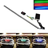 iJDMTOY 20 inches 48-LED RGB LED Knight Rider Scanner Lighting Bar For Car Interior or Exterior Decoration