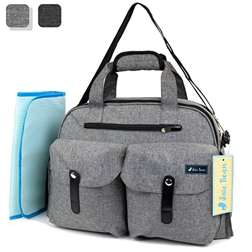 JOIE BEAN Baby Diaper Tote Bag with Changing Mat and for sale  Delivered anywhere in USA
