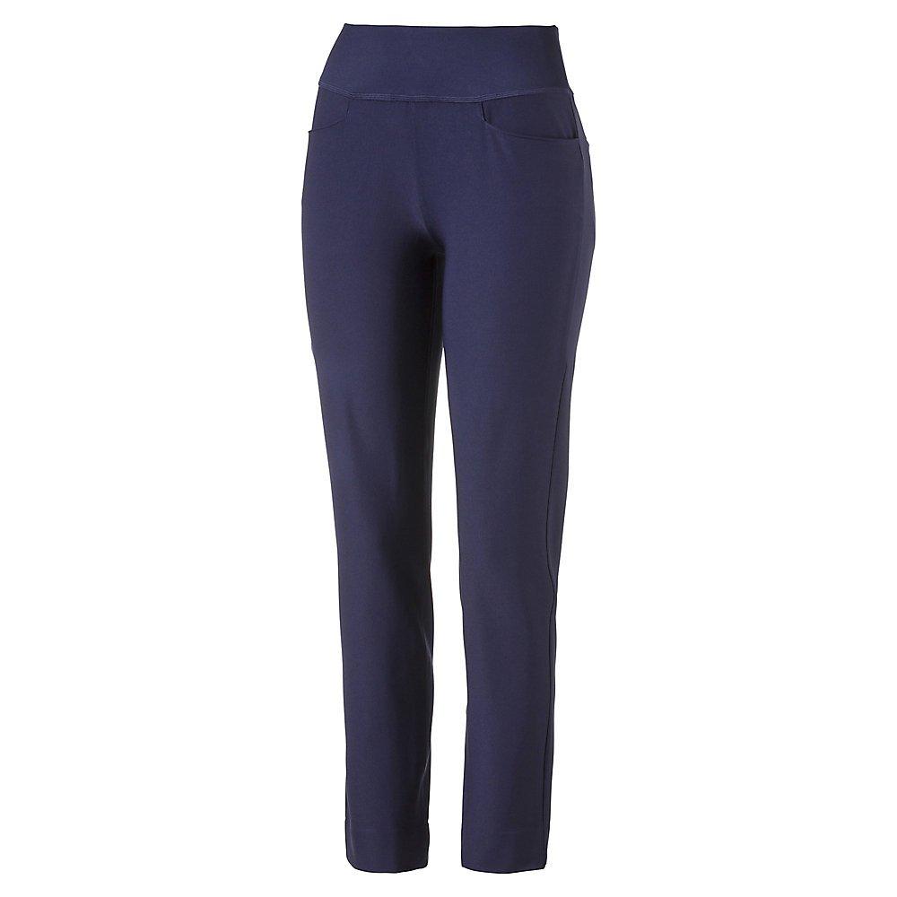 PUMA Golf Women's 2018 Pwrshape Pull on Pants, Peacoat, X-Small