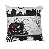 Gotd Halloween Pillow Cushion Cover Home Decor Decorations 45cm45cm18X18 (H)