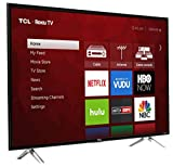 TCL 43 Inch 4K Smart LED TV 43S405 (2017) with Roku (Certified Refurbished)