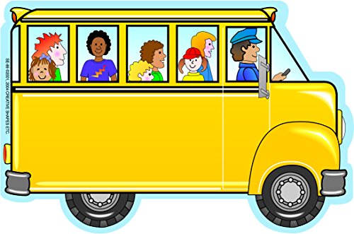 Bus Notepad - Bus with Kids Large Notepad