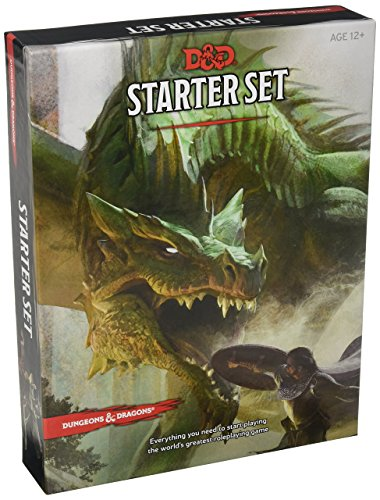 Price comparison product image Dungeons & Dragons Starter Set: Fantasy D&D Roleplaying Game 5th Edition (RPG Boxed Game)