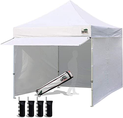 Eurmax 10 x 10 Pop up Canopy Commercial Tent Outdoor Party Canopie