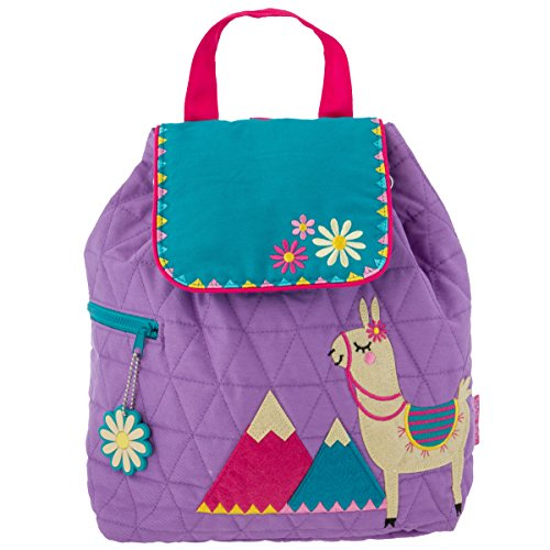 (Stephen Joseph Girl Quilted Backpack, Llama)