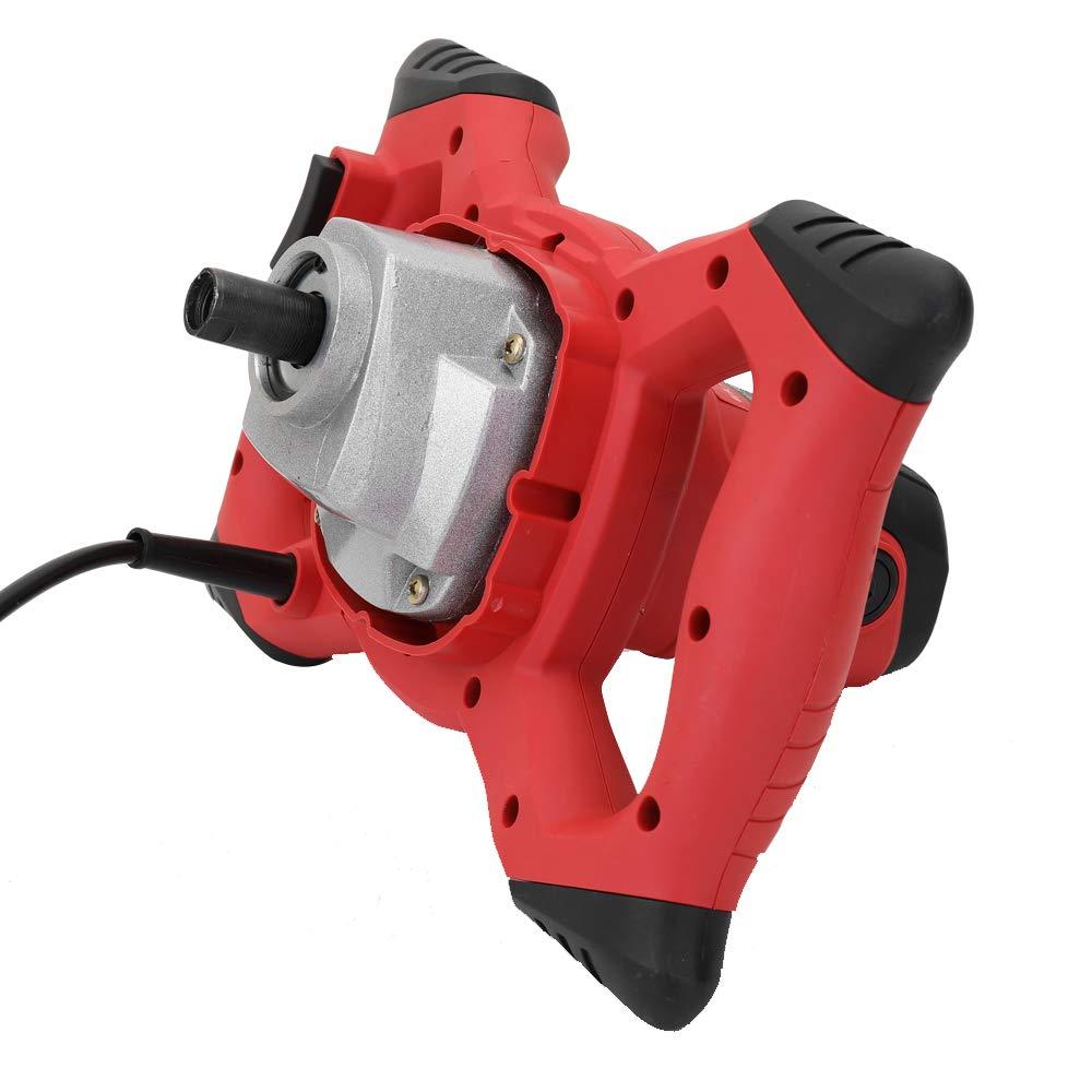 Industriemischer Elektrische Drehzahlregelung Handheld Farbe Zementputz M/örtel Beschichtung Kitt Pulver Mischmaschine ROEAM R/ührwerk M/örtelr/ührer