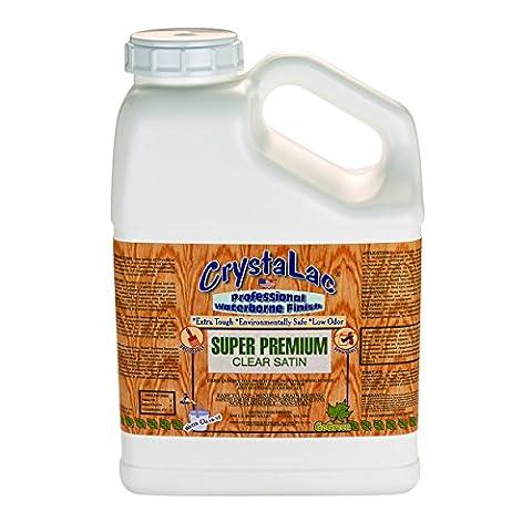 CrystalacSuper Premium Satin Gallon - Low Voc Polyurethane