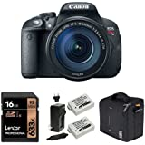 Canon EOS Rebel T5i Digital SLR with 18-135mm with 16GB Memory Card, Extra Battery and Bag
