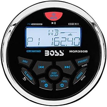 Amazon com BOSS Audio MGR350B In Dash Marine Gauge
