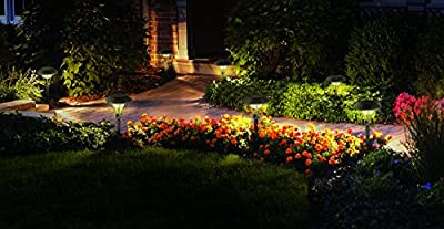 Malibu Celestial 6 Pack LED Pathway Lights, LED Low Voltage Landscape Lighting 8406-2904-06