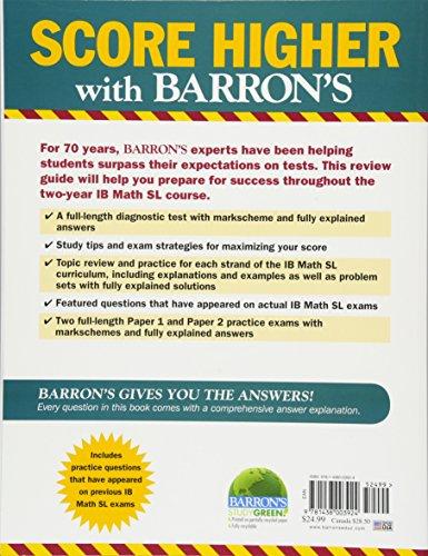 Barron's IB Math SL (Barron's Ib Books)