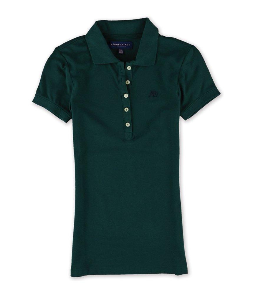 Aeropostale Womens A87 Polo Shirt 381 XS