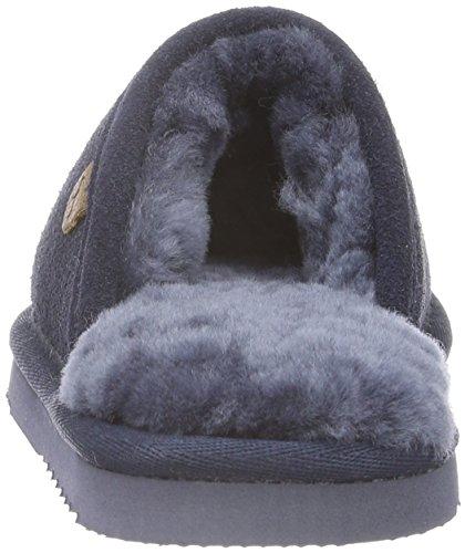 Warmbat Classic - Zapatillas de casa Unisex niños Blau (Dark Navy)