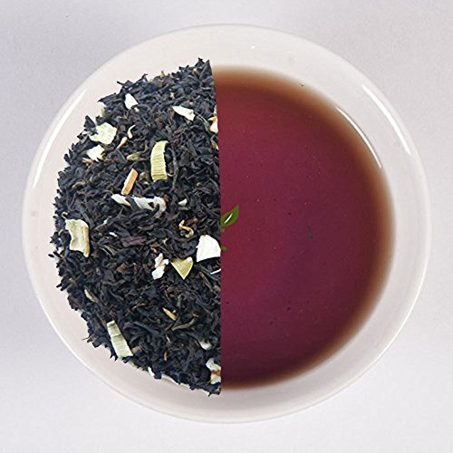 Nargis Assam Tea Leaves with Almond , Cardomom and spices Black Tea Leaves From India( 3.53 oz , makes 40 cups) - Keurig Sugar Free Coffee