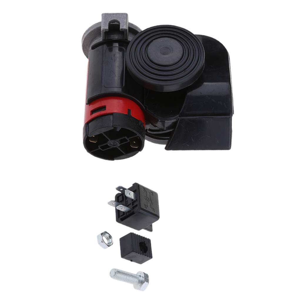 SUV Truck Baosity Electric Pump Air Horn 135db fits Almost Any 12V Vehicles Car Boat