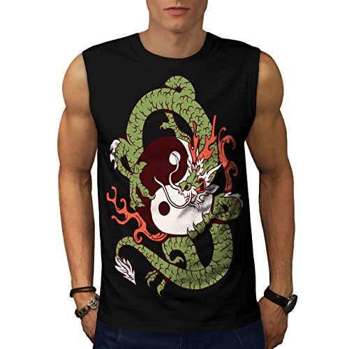 dragon-yin-yang-art-china-beast-men-new-l-sleeveless-t-shirt-wellcoda