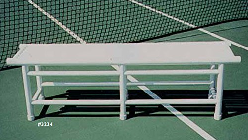 Tennis Court Seating - Har Tru PVC Pro Bench
