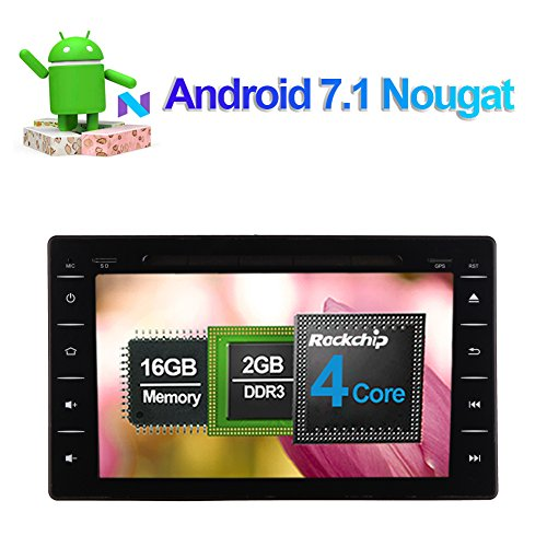 Android 7.1 Car Stereo CD DVD Player Full Touch In Dash: Amazon.co.uk: Electronics