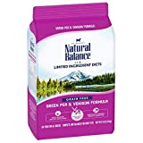 Natural Balance Limited Ingredient Diets Green Pea & Venison Formula Dry Cat Food (1 Pack), 8 Lb
