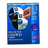 Avery Laser Labels Shuttered Jewel Case Inserts with Software for CD/DVD (5931)