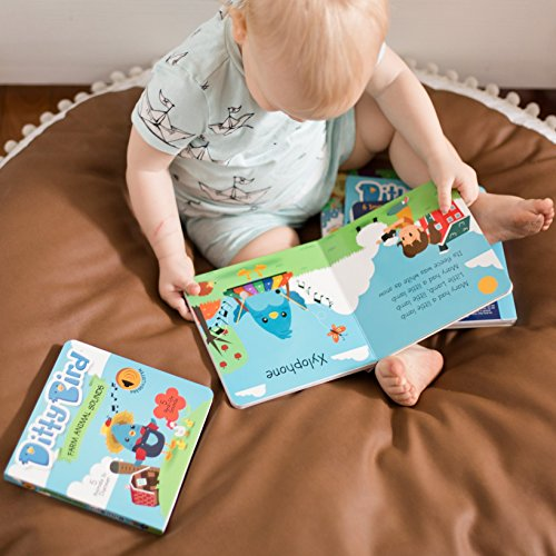 Ditty Bird Our Best Interactive Instrumental Music Book Babies. Educational Toys 1 Year Old. Toddler Musical Book to Learn Musical Instruments. Board Books 1 Year Old. 1 Year Old boy Girl Gifts. by Ditty Bird (Image #5)