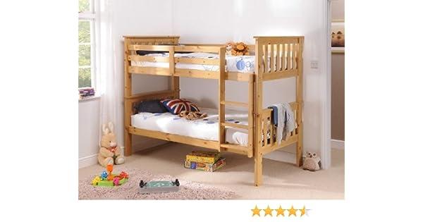 Snuggle camas Madison (litera) pino 91,44 cm solo literas: Amazon.es: Hogar