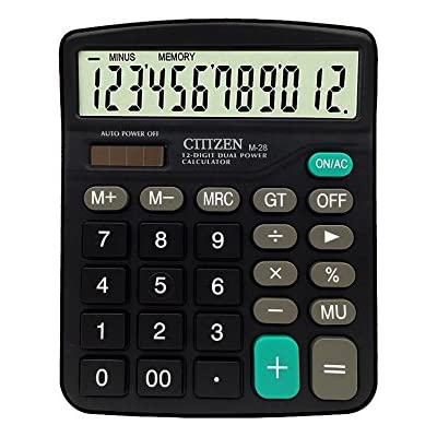 calculator-12-digits-solar-battery