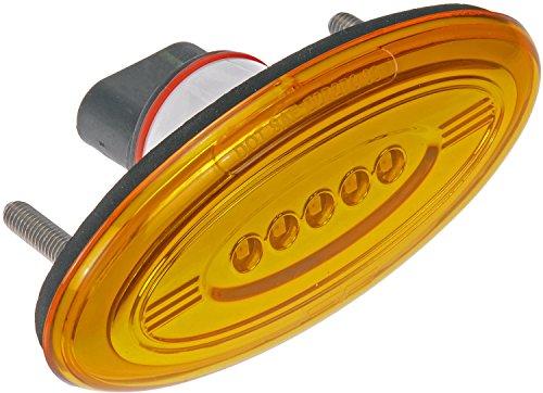 - Dorman 888-5411 Front Side Marker Light Assembly for Select Peterbilt 386 Trucks