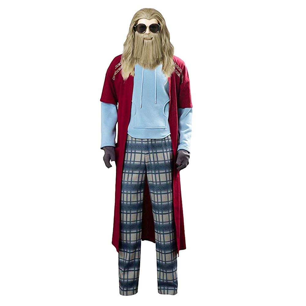 huzhixuan Disfraz de Thor Gordo para Hombre Traje de Cosplay ...