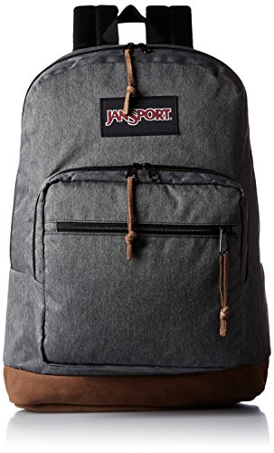 Jansport   Right Pack Digital Edition Student/Laptop Backpack, One Size, BLACK WHITE HERRIN GBONE