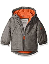 """Carter's Baby Boys' """"Wintry Woven-Look"""" Insulated Jacket"""