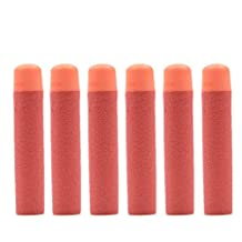 30 Pcs Red Foam Refill Darts for Nerf N-strike Elite Series Blasters Toy gun