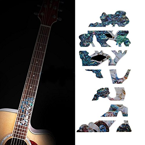 Fretboard Markers Inlay Sticker Tree of Life Decals For Acoustic Guitar And Electric Guitar