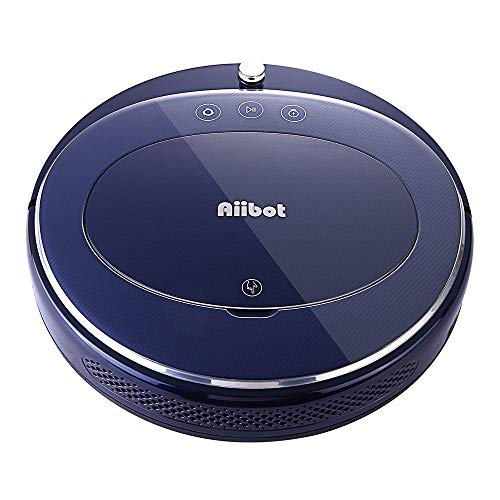 JP-DPP9 Cleaning Robot Aiibot T350 Convenient with Strong Suction Smart Vacuum Cleaner Sweeping Robot Four Cleaning Modes for All Floor,High Suction, Ultra Flexible,Low Noise (White)