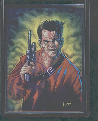 1996 Topps Finest Star Wars GOLD REFRACTOR Dr. Evazan #67 (Finest Refractor 1996)