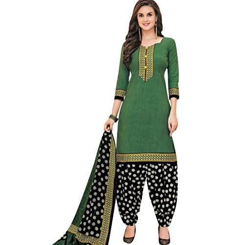 Designer Printed Cotton Salwar Kameez Readymade Suit Indian Dress