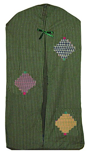 Patch Magic 12-Inch by 23-Inch Harvest Log Cabin Diaper Stacker (Patch Magic Harvest Log Cabin)