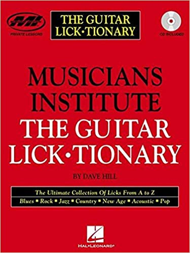 guitar tionary The lick