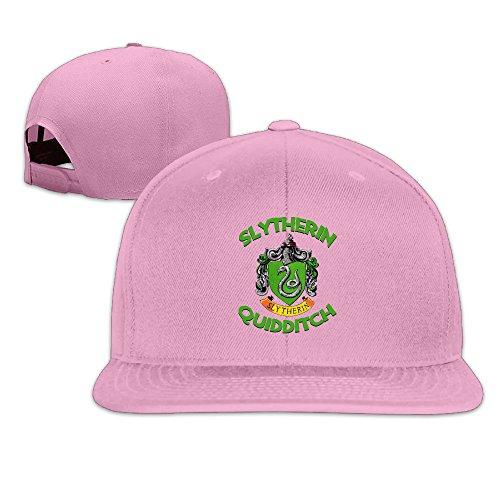 [ElishaJ Casual Slytherin Quidditch Baseball Caps Pink] (Matt Barkley Costume)