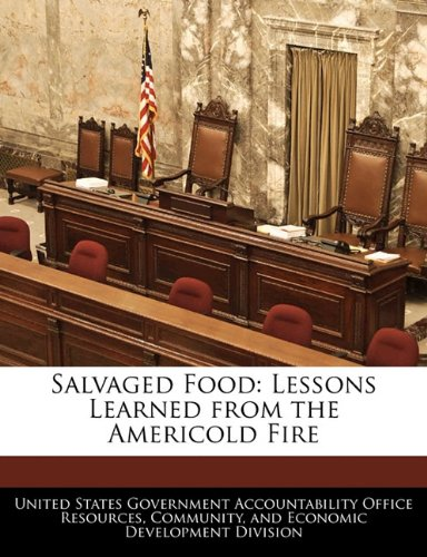 Salvaged Food  Lessons Learned From The Americold Fire