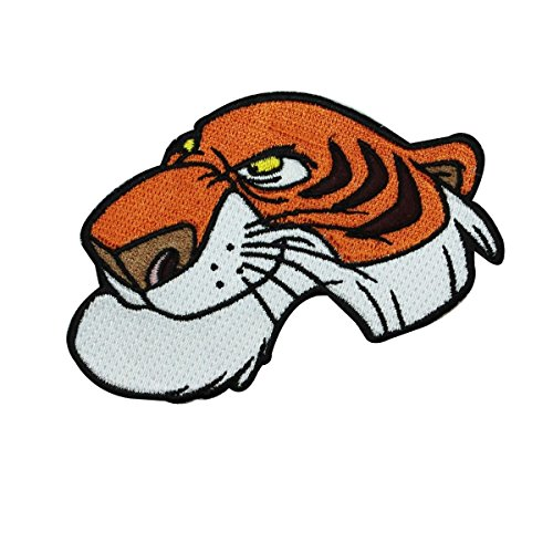 Jungle Book Tiger Shere Khan Iron On Patch Disney Character DIY Project Applique
