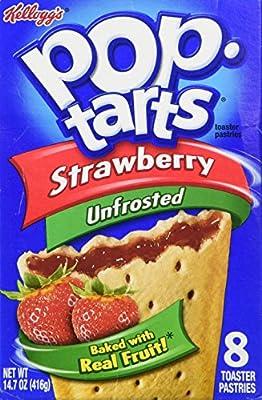 Kellogg's Pop-Tarts Strawberry Toaster Pastries 8 ct
