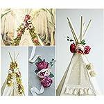 Teepee topper, floral garland, peonies garland, flower garland, boho style