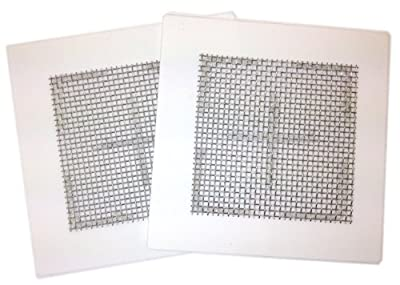 "1 X Two (2) Ceramic Ozone Plates for EcoQuest Fresh Air and others 4.5""x4.5"""