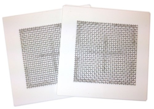 1 X Two (2) Ceramic Ozone Plates for EcoQuest Fresh Air and others 4.5''x4.5''